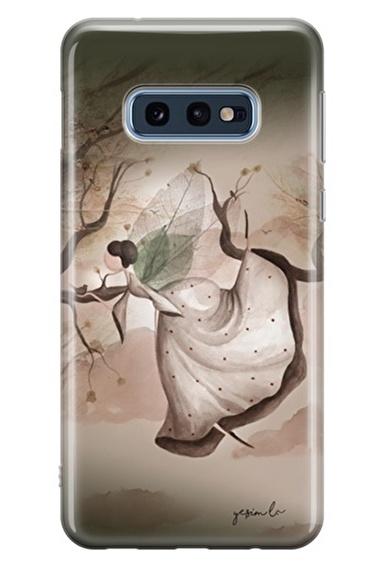 Lopard Samsung Galaxy S10E Kılıf Daldan Dala Kapak Renkli